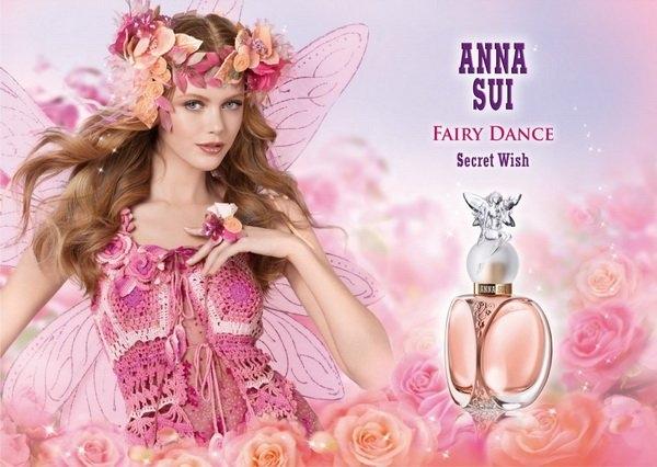 ANNA SUI Secret Wish Fairy Dance 漫舞精靈女性淡香水 30ml◐香水綁馬尾◐