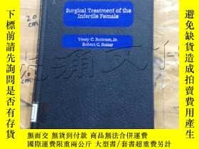 二手書博民逛書店Surgical罕見Treatment of the Infer