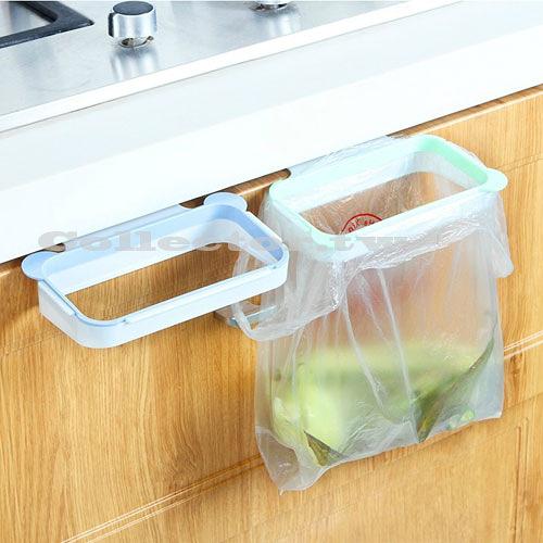 創意輕巧熊貓耳造型垃圾袋掛架 可掛式垃圾架 可移動的垃圾桶架