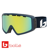 法國 Bolle Z5 OTG 雙層鏡片設計 防霧雪鏡 霧黑 #21952