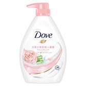 多芬玫瑰水嫩沐浴乳1000g【愛買】
