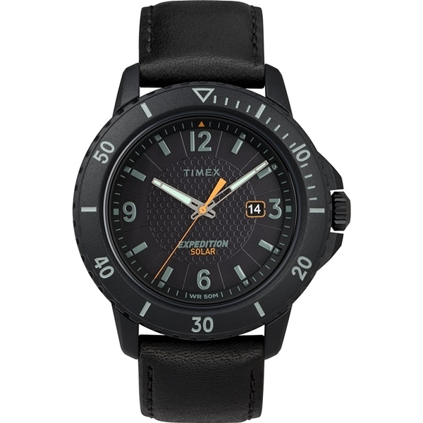 【TIMEX】 天美時 遠征系列 太陽能探險手錶 (黑 TXTW4B14700)