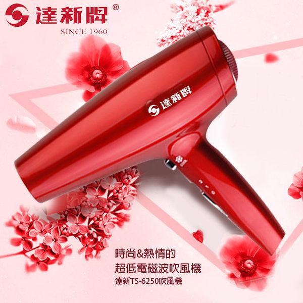 【達新牌】大師級專業吹風機冷熱風-紅艷吹風機(TS-6250) ◆86小舖 ◆