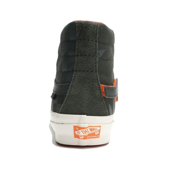 VANS x PORTER 休閒鞋 板鞋 OG SK8-HI LX 軍綠 聯名 魔鬼氈 高筒 男 (布魯克林) VN0A4BVBWW6