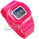 SKMEI 時刻美 時尚防水電子運動流行腕錶 夜光 日期 計時碼表 SK6918桃粉