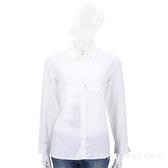 Max Mara-WEEKEND 白色領帶設計長袖襯衫 1710146-20