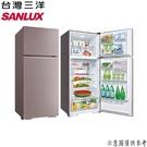 【SANLUX台灣三洋】480公升 雙門變頻電冰箱 SR-C480B1B