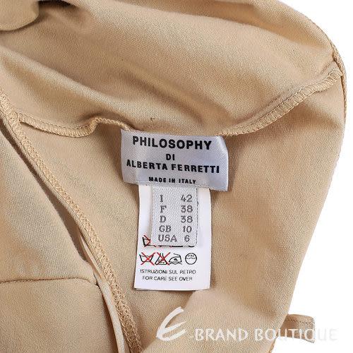 PHILOSOPHY-AF 駝色雪紡紗質上衣 0520869-02