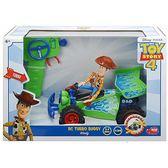 《 Disney 迪士尼 》玩具總動員4 1:24 R/C遙控車 - 胡迪 ╭★ JOYBUS玩具百貨