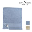 【簡單工房】美國棉雅致緞檔毛巾 34x76cm 100%棉 台灣製造