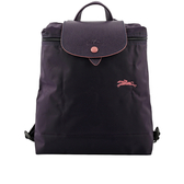 【LONGCHAMP】LE PLIAGE CLUB尼龍折疊後背包(藍莓色) L1699 619 645