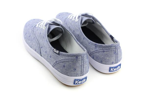 Keds CH DOBY DAISY BLUE 布鞋 休閒鞋 小花 藍色 女鞋 9171W122158 no240