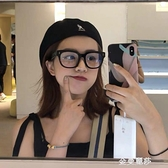 護目鏡gm黑框眼鏡女韓版潮小紅書粗框網紅素顏眼鏡框防藍光男 雙十二全館免運