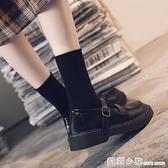 夏季小皮鞋女學生學院風jk制服鞋一字扣軟妹日系復古瑪麗珍鞋 蘇菲小店