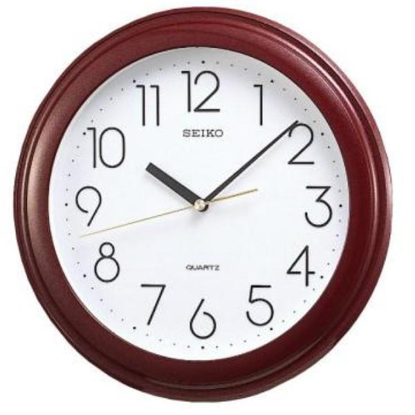 附發票 28.7公分【時間光廊】SEIKO 日本 精工 掛鐘 全新原廠公司貨 QXA577B 時鐘