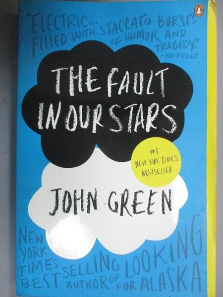 【書寶二手書T4/原文小說_KCU】The Fault in Our Stars_Green, John