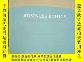 二手書博民逛書店Business罕見Ethics: A Global And M