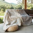 波西米亞純棉沙發套罩巾全棉全包蓋布四季通用沙發墊蓋毯毛巾被 設計師生活百貨