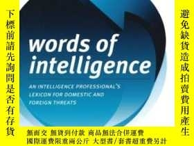 二手書博民逛書店Words罕見Of Intelligence: An Intel