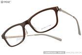 VYCOZ 光學眼鏡 LONGLY BRN-TITAN-G (棕-銀) 韓版時尚休閒百搭款 # 金橘眼鏡