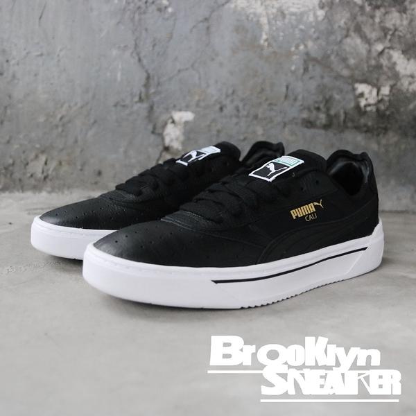 PUMA Cali 黑白 皮革 基本 舒適 休閒鞋 男鞋 (布魯克林) 36933701