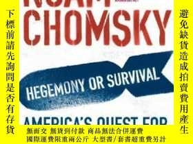 二手書博民逛書店Hegemony罕見Or Survival?Y256260 Noam Chomsky Penguin Book