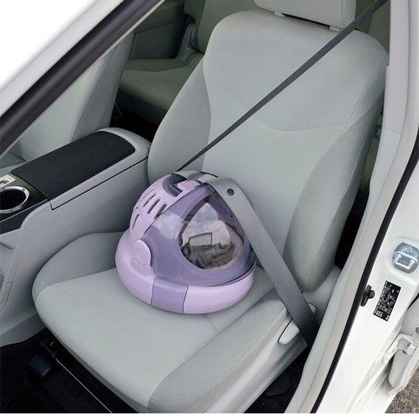 ◆MIX米克斯◆日本Richell《Corole 太空艙兩用貓咪提籃》可當睡窩 M號