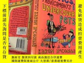 二手書博民逛書店parties罕見predicaments and undercover pets 派對困境與臥底寵物Y20