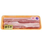 活菌豬無皮五花肉條200g