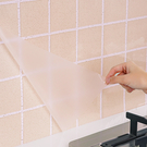 日本廚房防油貼紙自粘透明耐高溫瓷磚牆貼台防水櫥櫃牆壁壁紙 店慶降價