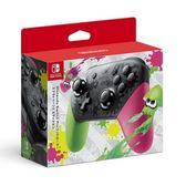 【軟體世界】Nintendo Switch NS PRO 原廠控制器 (漆彈大作戰 2 特仕款)