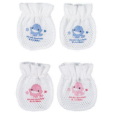 【奇買親子購物網】酷咕鴨KU.KU. 網布護手套(藍色/粉色)