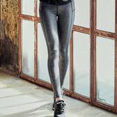 現貨-運動褲-S-2XL極簡線條彈力修身舒適灰色運動褲Kiwi Shop奇異果0717【STD9420】