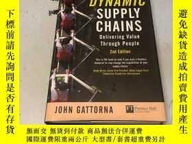 二手書博民逛書店Dynamic罕見supply chains 英文原版Y1829