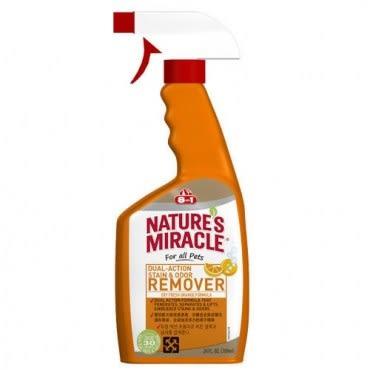 8in1 美國 自然奇蹟 橘子酵素去漬除臭噴劑 24oz / 709ml X 1入