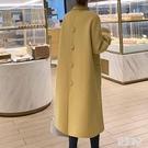 秋冬新款反季雙面羊絨大衣女中長款赫本風高端羊毛呢子外套 FX9678 【美好時光】