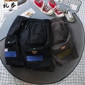 純色工裝短褲男寬松夏季中褲男 換季斷碼清倉