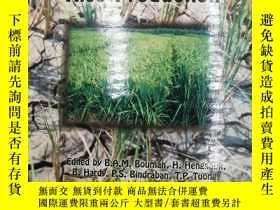 二手書博民逛書店Water-wise罕見Rice Production (附CD