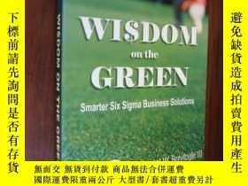 二手書博民逛書店Wisdom罕見on the GreenY85718 Smart