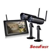SecuFirst DWH-A077X 數位無線網路監視器(一機兩鏡)【本月回饋↘省$1500】