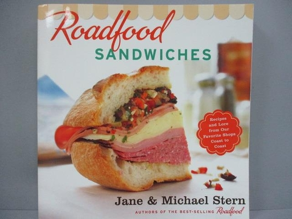 【書寶二手書T4/餐飲_IQB】Roadfood Sandwiches: Recipes and Lore from O