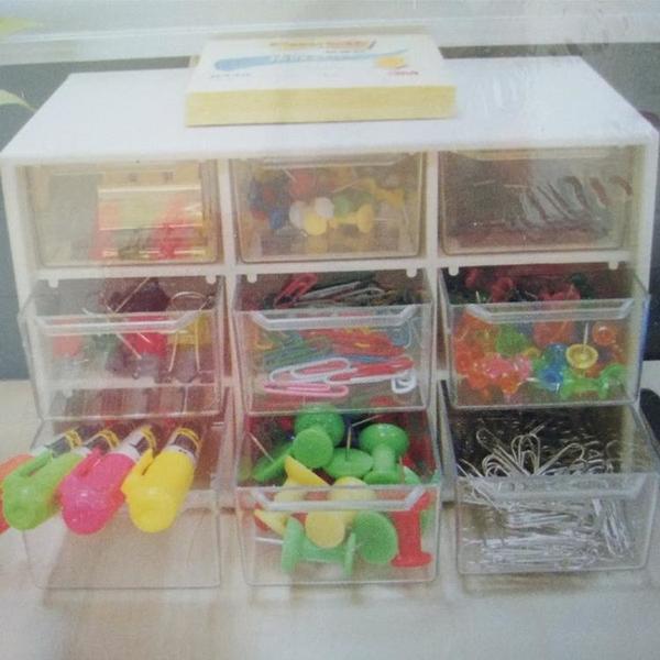 迷你小號桌面抽屜式口紅收納盒桌上小型收拾兒童頭飾