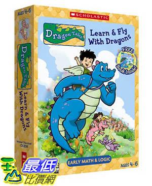 [106美國暢銷兒童軟體] Dragon Tales Learn & Fly With Dragons (CD-Rom and Book) - PC Mac