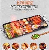 【土城現貨】烤盤 電烤爐燒烤爐家用無煙電烤盤烤肉盤韓式不粘烤肉鍋烤架烤肉機 LX110V