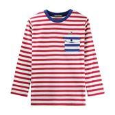 『小鱷魚童裝』條紋口袋T恤(08號~18號)532410