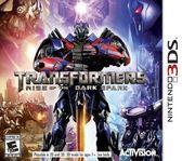 3DS Transformers Rise of the Dark Spark 變形金剛:暗火崛起(美版代購)