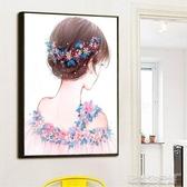 新款5D鑽石畫小件兒童貼鑽十字繡滿鑽簡單粘點磚石秀小幅客廳   歐韓流行館