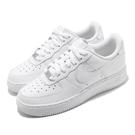 Nike 休閒鞋 Wmns Air Force 1 07 全白 女鞋 經典 基本款 小白鞋【ACS】 DD8959-100