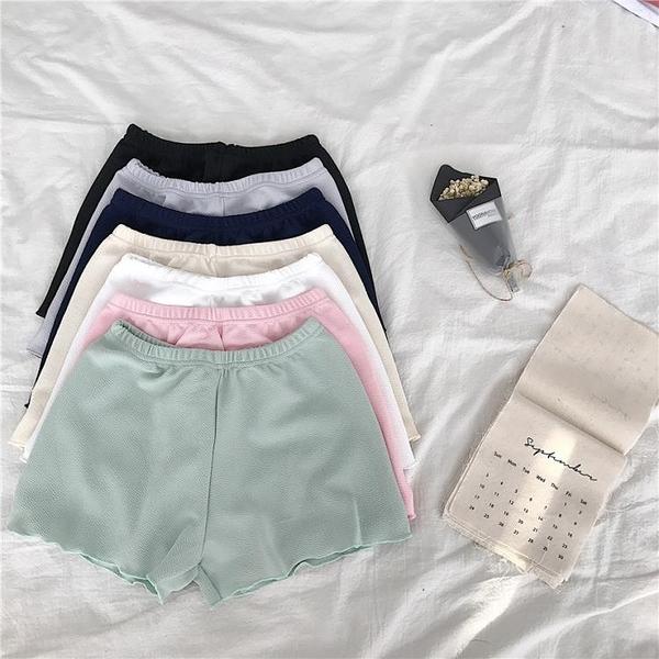 [超豐國際]百搭保險褲女內搭短褲安全褲夏季防走光可外穿卷邊打1入