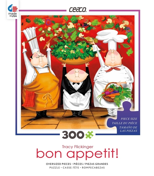 【KANGA GAMES】拼圖 Bon Appetit系列- 夏日沙拉 Summer Salad 美國製造 300片